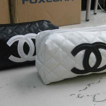 Chanel Inspired Cosmetic Bag
