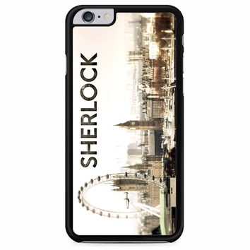 Sherlock Holmes Wallpaper iPhone 6 Plus/ 6S Plus Case