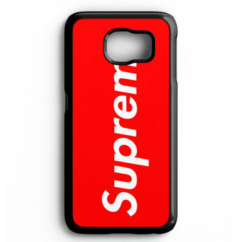 Supreme New York Clothing Skateboarding Samsung galaxy S6 Case