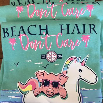 Beach hair don't care simply southern