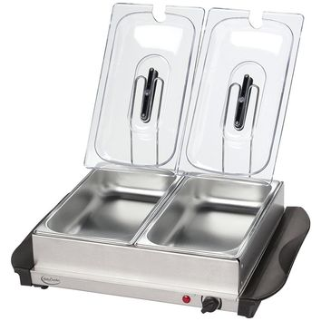 Betty Crocker Stainless Steel Buffet Server With Warming Tray WACBC2587CY