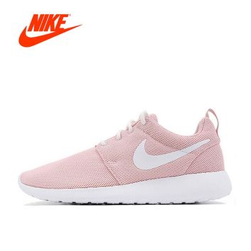 Original New Arrival Offical Nike Roshe Run One Breathable Women 85e9fe993