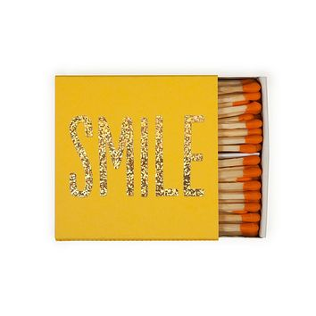 THE SOCIAL TYPE SMILE MATCHBOX