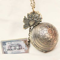 harry potter Enchanted Steampunk Golden snitch by touchsoul