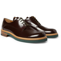 Jil Sander Patent-Leather Derby Shoes | MR PORTER