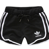 "Adidas "" Like Fashion Print Exercise Fitness Gym Yoga Running Shorts"