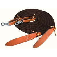 Weaver Poly Nylon Split Reins and Western Reins | EQUESTRIAN COLLECTIONS.COM