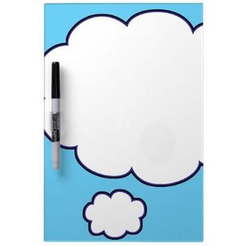 Thought Bubble Trouble Dry-erase Boards from Zazzle.com