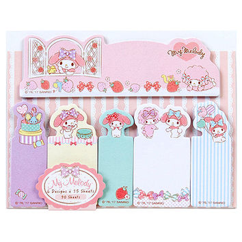 Buy Sanrio My Melody Die Cut Sticky Note & Tab Set at ARTBOX