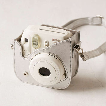 Fujifilm Instax Mini 8 Metallic Silver Camera Case - Urban Outfitters