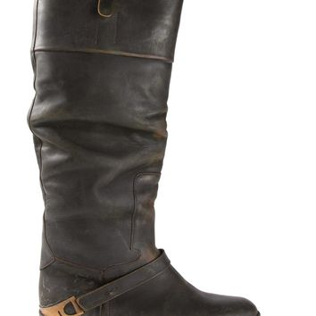 Golden Goose Deluxe Brand Distressed Mid-Calf Boots