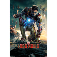 Iron Man Domestic Poster