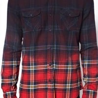 New Look Shirt in Dip Dye Tartan