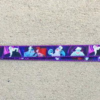 Disney Inspired Ursula Lanyard, Pin Trading Lanyard, ID holder, Accessories, Key Holder