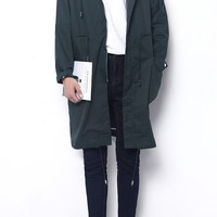 Long Parka Jacket | 4 Colors