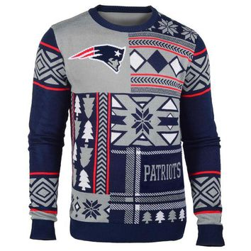 VLX9RV New England Patriots Official NFL Ugly Sweater - Choose your Style!