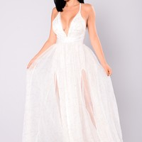 Winning Maxi Dress - White