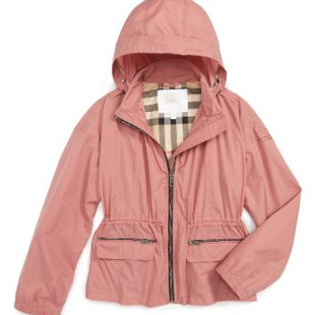 Burberry Deenee Hooded Jacket (Little Girls & Big Girls) | Nordstrom