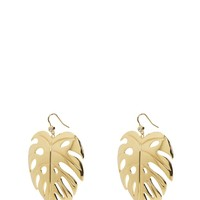 Palm Leaf Earring by Juicy Couture