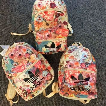 ICIKID4 adidas Originals Backpack In Flowers Prints