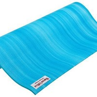 Hugger Mugger Tapas Ultra Nature Collection Yoga Mat (68-Inch, Ocean)