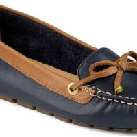 Sperry Top-Sider Katharine 1-Eye Driver Navy/Cognac, Size 11M  Women's Shoes