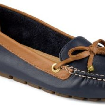 Sperry Top-Sider Katharine 1-Eye Driver Navy/Cognac, Size 6M  Women's Shoes