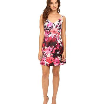 Adrianna Papell - Floral Print Cocktail Dress 41923630