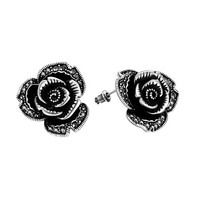 MLOVES Women's Classical Retro Rose Ear Cuffs