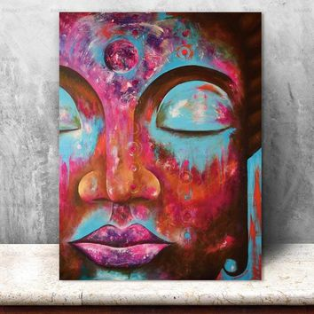 Canvas Painting Pictures plant Buddha home decor Wall Art  prints on canvas painting wall decoration for living room no frame