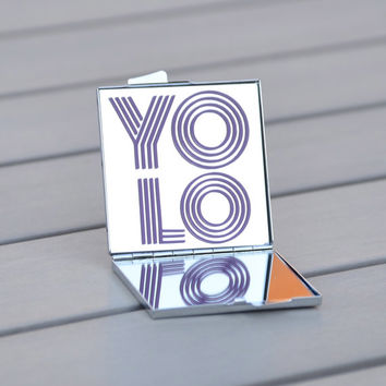 YOLO | You Only Live Once that's the motto | Gift idea for teens, birthday gift, gifts under 20