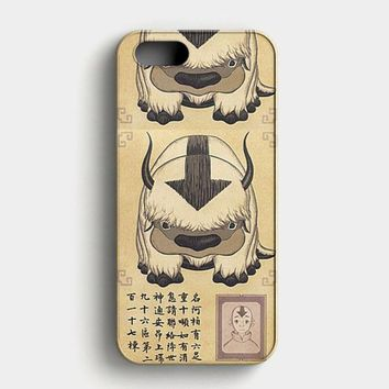 Appa Avatar The Last Airbender iPhone SE Case