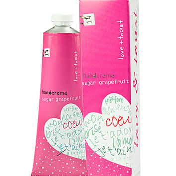 Love & Toast Sugar Grapefruit Handcreme Multi One Size For Women 27408095701