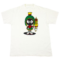 Vintage 90s Marvin The Martian T-Shirt Mens Size Large