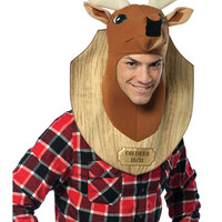 Oh Deer Trophy Head Adult Men's Costume – Spirit Halloween