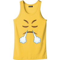 Emoji Pissed Off Tank