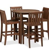 CHATHAM ROUND FIXED BAR TABLE & CHAIR SET