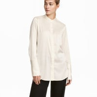 Satin Blouse - from H&M