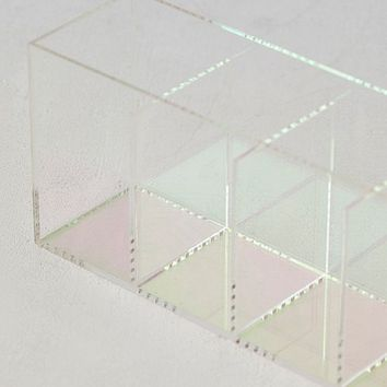Iridescent Quad Makeup Organizer Tray | Urban Outfitters