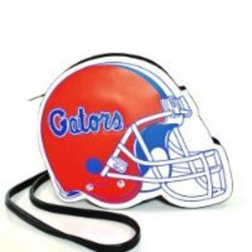 ESBON NCAA Florida Gators Football Helmet Leatherette Cross Body Bag
