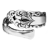 Laura Silver Spoon Ring