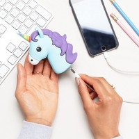 Thumbs Up Unicorn Power Bank at asos.com