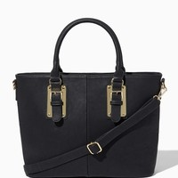 Amara Textured Faux Leather Tote | Handbags & Purses - Modern Romance | charming charlie