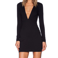 Motel Meli Dress in Black
