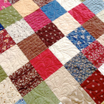 Quilted Table Topper Farmhouse Americana Wall Hanging Rustic