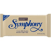 Hershey's Symphony Creamy w/Almonds & Toffee Chips Milk Chocolate, 6.8 Oz - Walmart.com