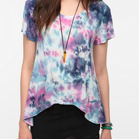 Daydreamer LA Tie-Dye High/Low Tee