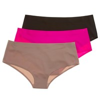 3pk No Line Boyshort Panties 238012002 | Boyshorts | Panties | Intimates Sleepwear | Women | Burlington Coat Factory