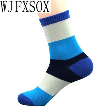 WJFXSOX 5 pairs 2017 Hot Cotton Classic Business polo Men's Socks Brand Mens Socks For Men Autumn-winter Casual Socks Meias Sox