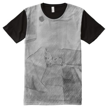 Living room All-Over-Print T-Shirt